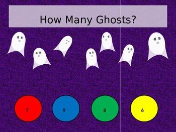 Halloween Addition Game