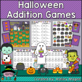 Halloween Addition Games: Holiday Themed Math Center Activities