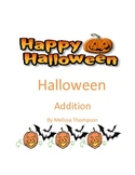 Halloween Addition Matching Game