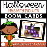 Halloween Addition Math Facts Boom Cards™ Distance Learning