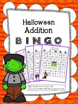 Halloween Addition Multiplication