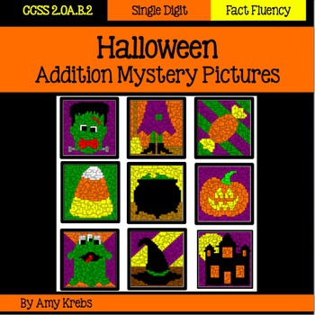 Halloween Addition Mystery Pictures