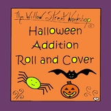 Halloween Roll and Color Addition {Halloween Math Dice Games}