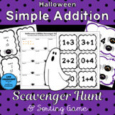Halloween Addition Facts Games