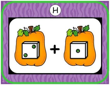 Halloween Addition & Subtraction Bundle {Subitizing with Dice}