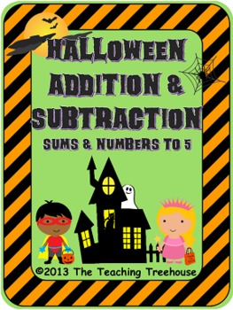Halloween Addition & Subtraction Within 5