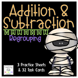 Halloween Addition & Subtraction Without Regrouping