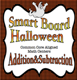 Halloween Addition & Subtraction for the Smart Board