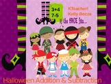 Halloween Addition & Subtraction