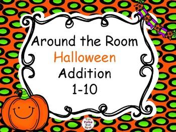 Halloween Addition Up to 10- Around the Room