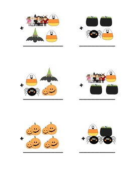 Halloween Addition (With and without Regrouping)