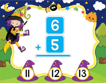 Halloween Addition Powerpoint and Smartboard