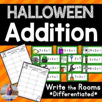 Halloween Math: Addition Write the Room!