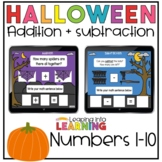 Halloween Addition and Subtraction | BOOM ™ Cards