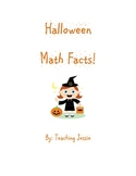 Halloween Addition and Subtraction Math Facts