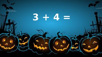 Halloween Addition and Subtraction PPT
