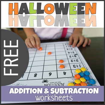 Halloween Addition And Subtraction Worksheets Teaching Resources ...