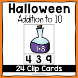 Halloween Addition to 10 Clip Cards