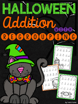 Halloween Addition with Regrouping