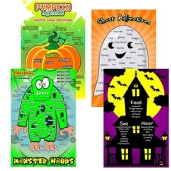 Halloween Adjective Bundle