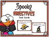 Halloween Adjectives Task Cards
