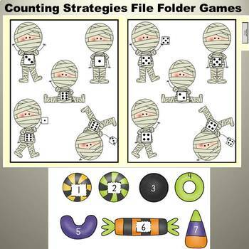 Halloween File Folder Games: Halloween Adventures Mega Pack