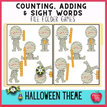 Halloween File Folder Games: Halloween Adventures Mega Pack