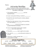 Halloween Adverbs Activity