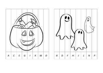 Halloween Agamograph Art Activity