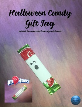 Halloween Airhead Candy Gift Tag