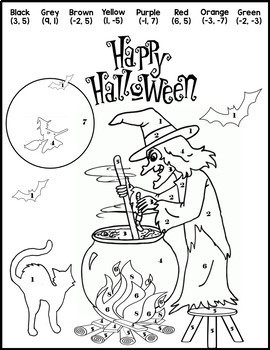 Halloween Algebra 1 and 2 Halloween Activity {Halloween Systems of Equations}
