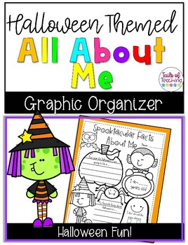 Halloween All About Me Activity