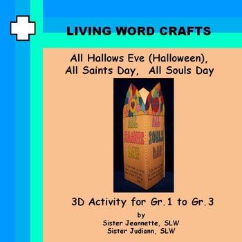 Halloween - All Hallows Eve, All Saints, All Souls 3D Grad