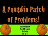 Halloween All Level Problem Solving Creative Activity