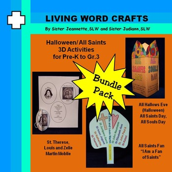 Halloween/All Saints Bundle for Pre-K to Gr.3