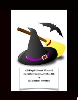 Halloween: All Things Halloween Webquest
