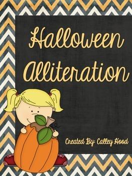 Halloween Alliteration