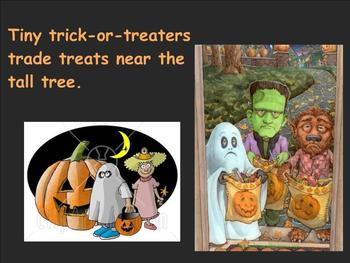 Halloween Alliteration Smartboard