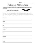 Halloween Alliterations