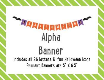 Halloween Alpha Banner