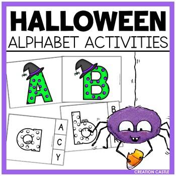 Halloween Alphabet Activities