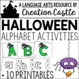 Halloween Alphabet Activities