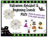 Halloween Alphabet Beginning Sounds Match Mats