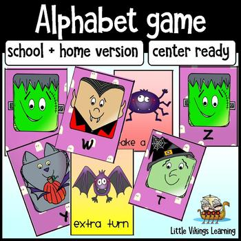 Halloween Alphabet Center Game
