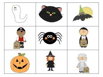 Halloween Alphabet Centers