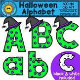 Halloween Alphabet Clip Art