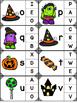 Halloween Alphabet Clip Card Activity