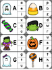 Halloween Alphabet Clip Card Activity