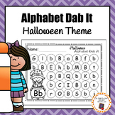 Halloween Alphabet Dab It Worksheets