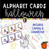 Halloween Alphabet Letter Cards